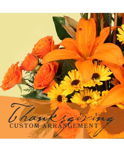 Thanksgiving Custom Arrangement