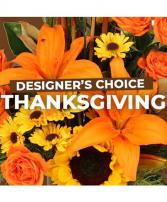 Thanksgiving Designers Choice