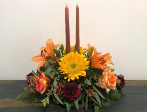Thanksgiving Feast Centerpiece in Bluffton, SC | BERKELEY FLOWERS & GIFTS