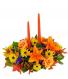 Thanksgiving Floral Centerpiece Table arrangement