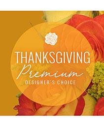 Thanksgiving Floral Splendor Premium Designer's Choice