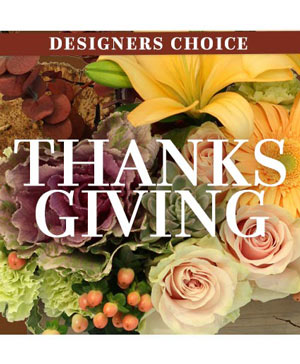 Thanksgiving Florals Custom Arrangement in Falls Church, VA | Geno's Flowers