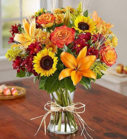 Thanksgiving Flowers for the Home
