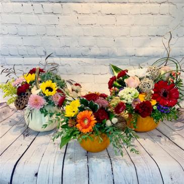 Thanksgiving Garden Arrangement