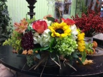 Thanksgiving Garden Table Centerpiece