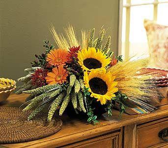 Autumn  Celebration         centerpeice