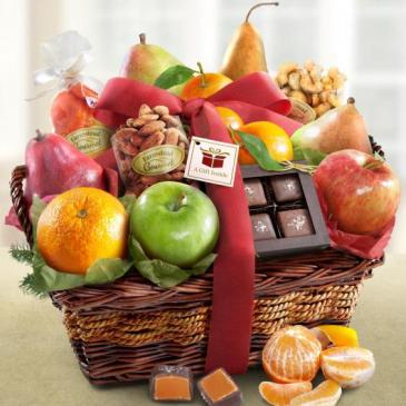 Thanksgiving Gourmet Fruit Basket Thanksgiving Gourmet, Fall