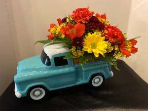 Thanksgiving Harvest of Color Fresh Fall in Osage, IA | Osage Floral & Gifts