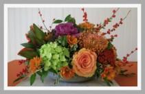Exquisite Harvest  Centerpiece