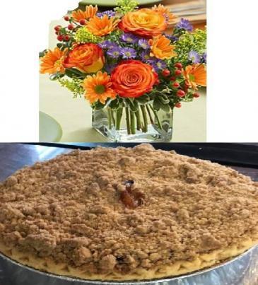Apple Crumb Pie & Centerpiece Thanksgiving Special