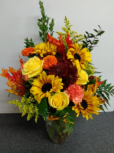 THANKSGIVING SPECIAL NO 1 FALL ARRANGEMENT