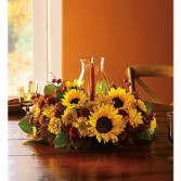Thanksgiving Sunflower Centerpiece $75.95, $85.95, $105.95