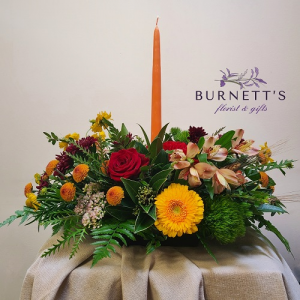 Thanksgiving Table Arrangement in Kelowna, BC | Burnett's Florist