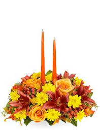 Thanksgiving Together 2 Candle Centerpiece