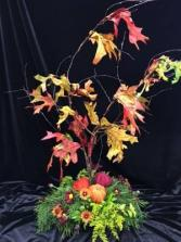 Thanksgiving Tree Centerpiece