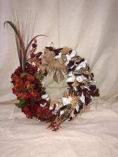 Thanksgiving Wreath  Custom