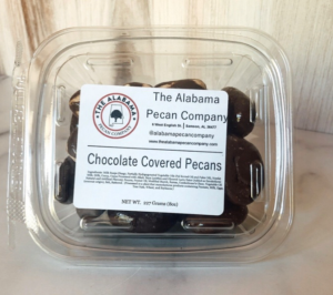 The Alabama Pecan Company  Chocolate Covered Pecans 8oz in Geneva, AL | GENEVA FLORIST & GIFT SHOP