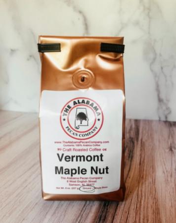 The Alabama Pecan Company  Vermont Maple Nut 8oz