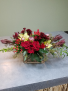 Cupid's Christmas Floral Design