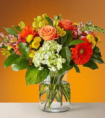 The Autumn Glow Bouquet 21-F1