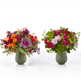 The Autumn Harvest Bouquet (left) The Abundance Bouquet (right)