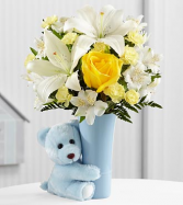 The Baby Boy Big Hug Bouquet