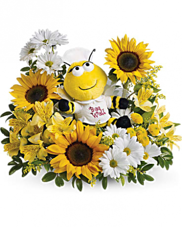 The Bee-Well Bee! Keepsake Arrangement