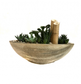 The Beige Boat Succulent Planter