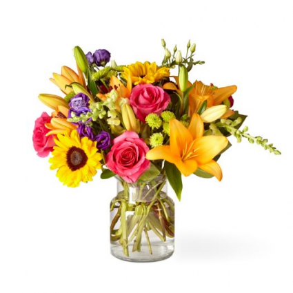 The Best Day Bouquet BDB -Deluxe shown