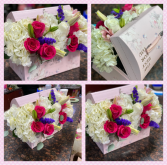 """The Best For You"" Box  Floral treasure Box"