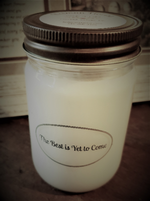 The best is yet to come candle  in Fairview, TN | Holman Florist