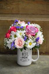The Best Mom Ever Mug Arrangement