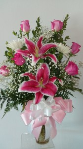 BEST MOM IN THE WORLD ROSES, LILIES AND SPIDER MUMS   in Norwalk, CA | NORWALK FLORIST