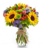The best of summer bouquet