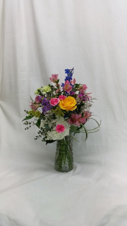 The Big Bouquet Vase