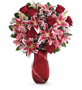 The Big Sexy Valentine bouquet in Traverse City, MI | Blossom Shop
