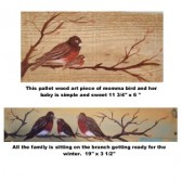 The Bird Families Wall Hanging