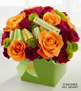 THE BIRTHDAY BOUQUET by FTD in Stafford, VA | Anita's Beautiful Flowers