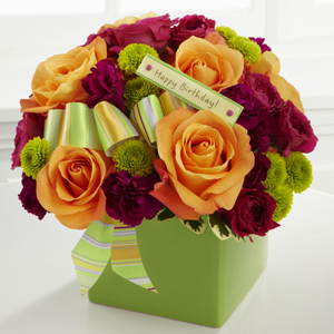 The Birthday Bouquet by FTD®  in Valley City, OH | HILL HAVEN FLORIST & GREENHOUSE