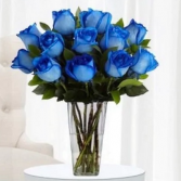 The Blue Love Design Vase Arrangement