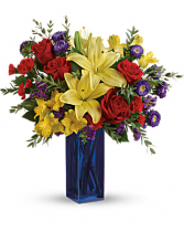 The Boldly Colorful Bouquet