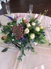 The book of knowledge Wedding centerpiece