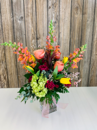 The Brightest Day  Vase Arrangement