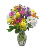 The brightest ever vase arrangement