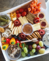 The Charcutie Girl Charcuterie Box