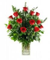 The Classic 1 Dz Roses Vase