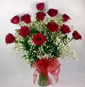 The Classic Red Rose Arrangement