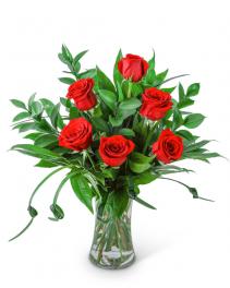 The Classic Six Flower Arrangement