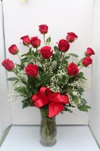 The Classic Red Rose Arrangement