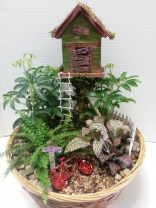 The Club House Mini Garden
